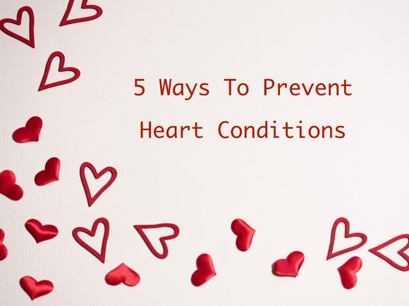 5 Lifestyle Tips To Prevent Heart Conditions