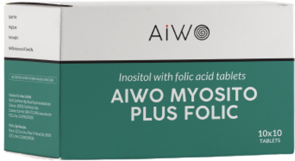 Inositol with Folic Acid