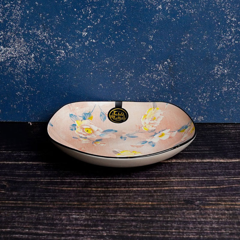 Camellia - 7.5 inch Square Rice Plate - Table Matters