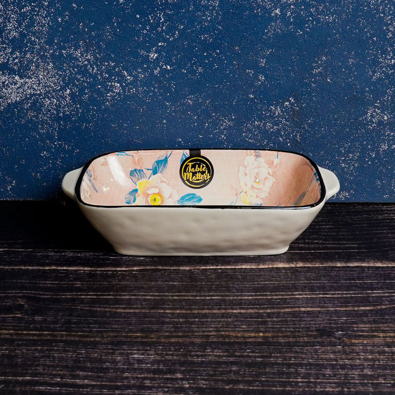 Camellia - 8.5 inch Baking Dish with Handles - Table Matters