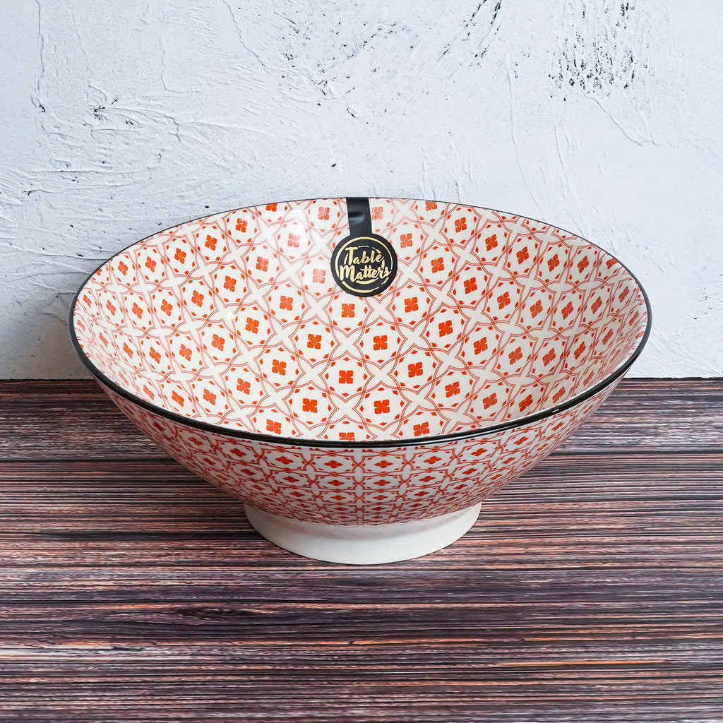Crisscross Red - Ramen Bowl
