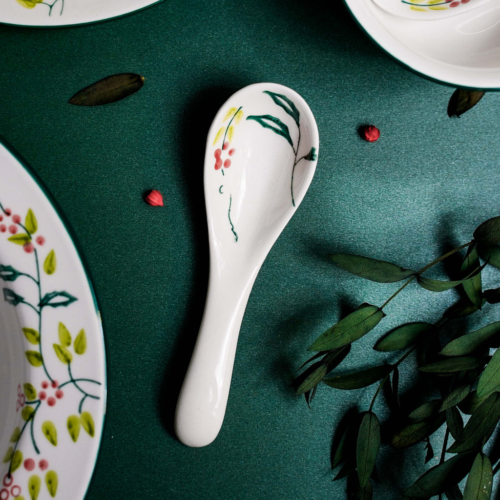 Holly Green - Hand Painted Spoon (Small)
