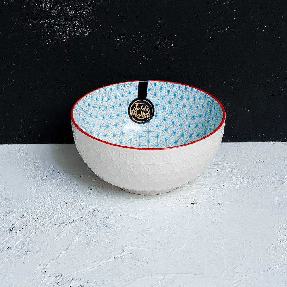 Starry Blue - 4.5 inch Rice Bowl / 6 inch Soup Bowl / 8 inch Big Serving Bowl
