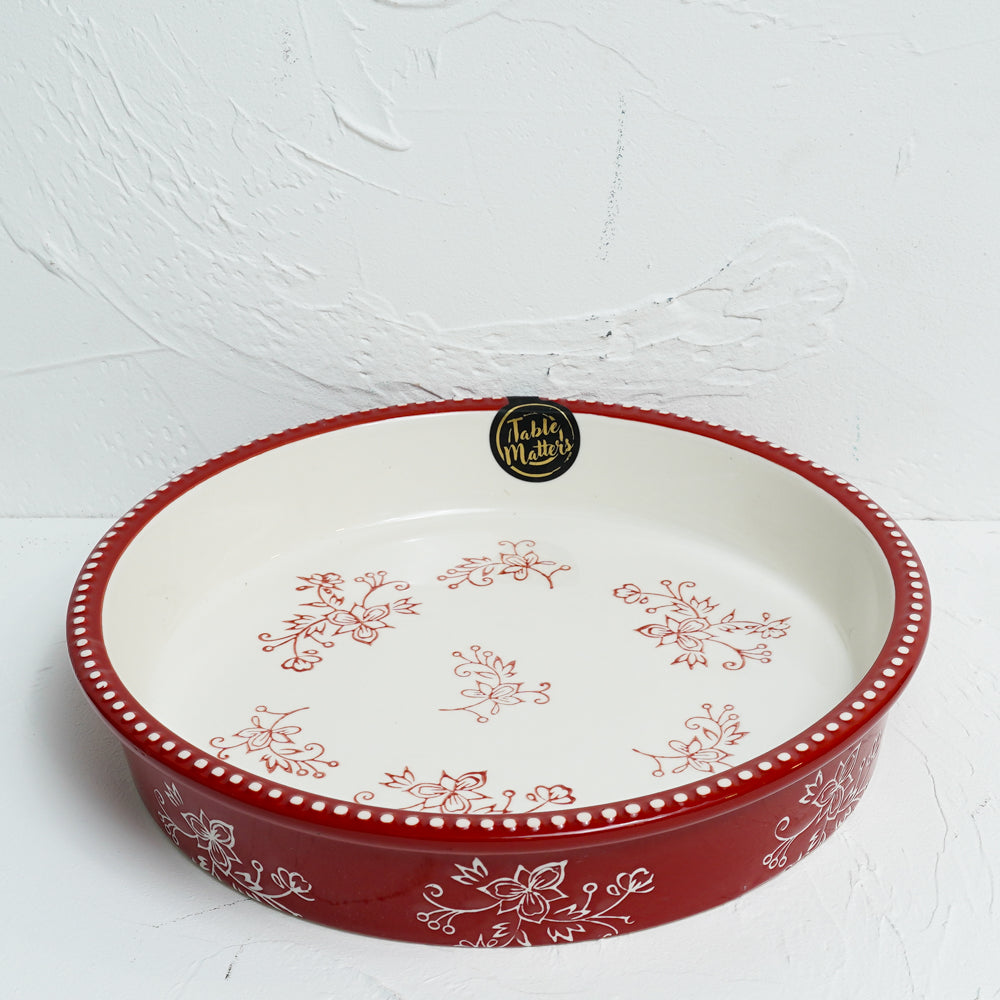 Spring Celebration - 10.5 inch Round Pie Dish