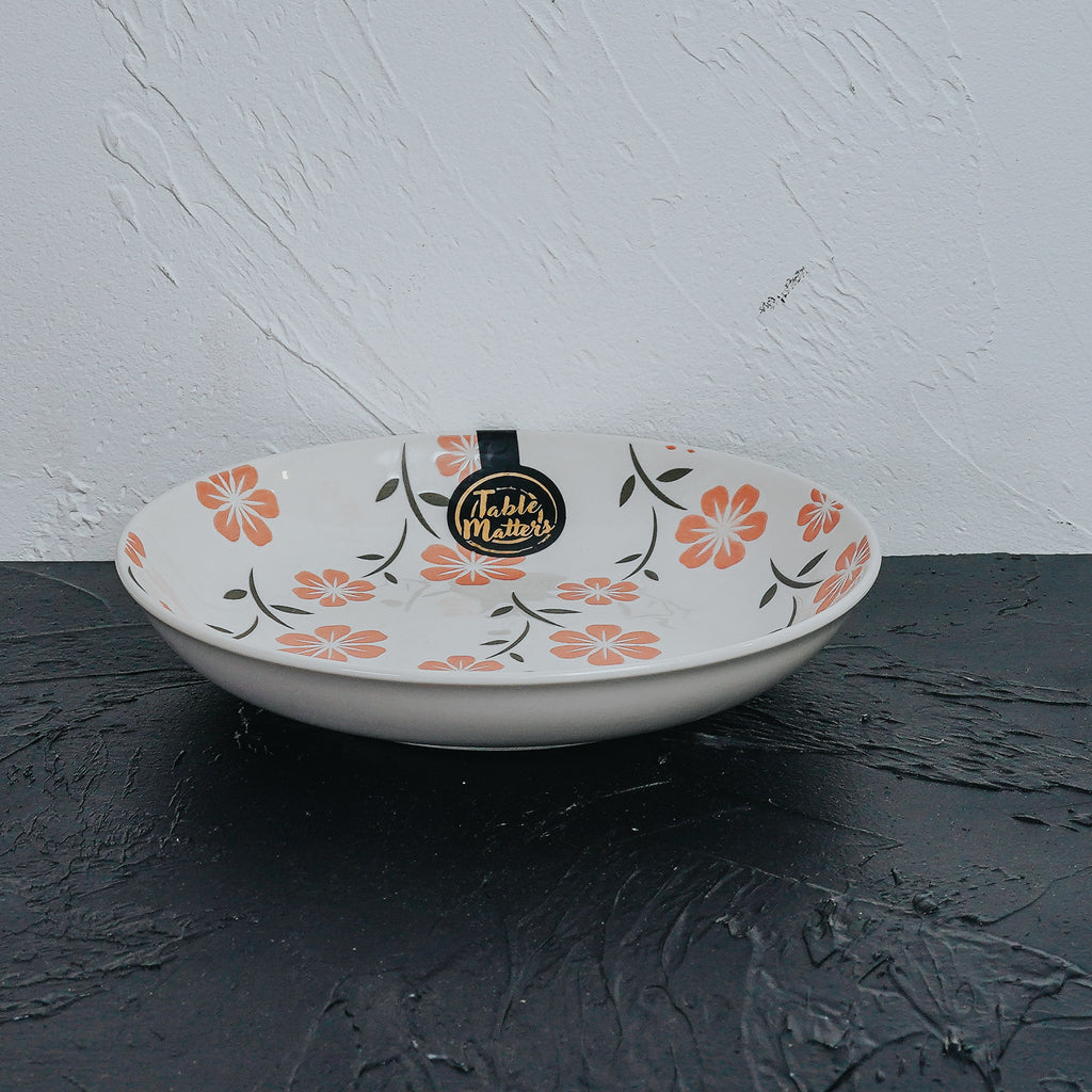 Sakura Pink - Hand Painted 7 inch Coupe Plate - Table Matters