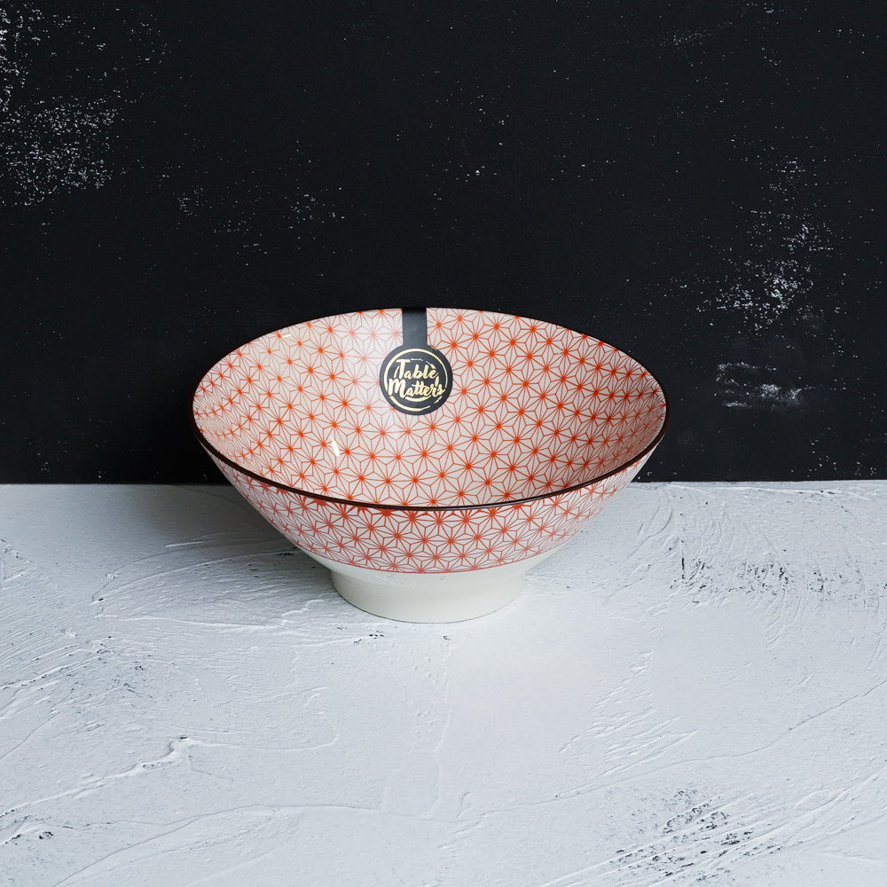 Starry Red - Ramen Bowl - Table Matters