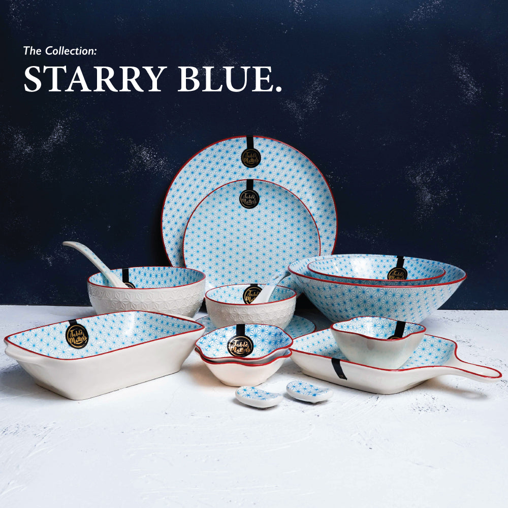 Starry Blue - 8.5 inch Baking Dish with Handles