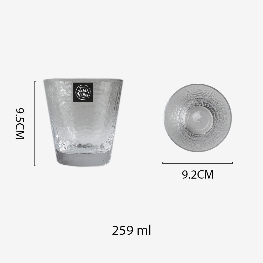 TSUCHI Drinking Glass - 259ml