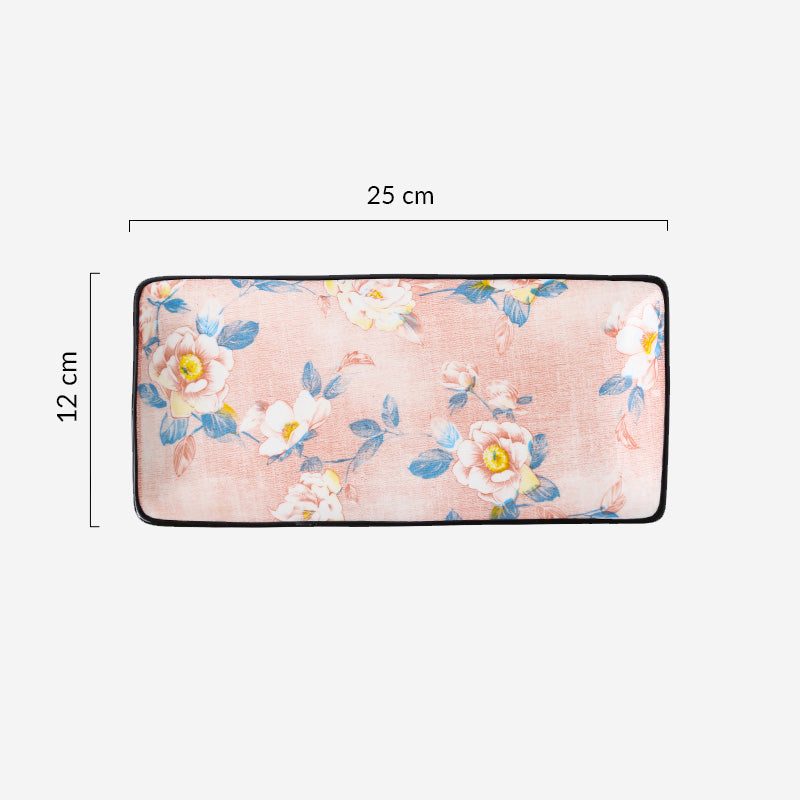 Camellia - 10 inch Rectangular Plate - Table Matters
