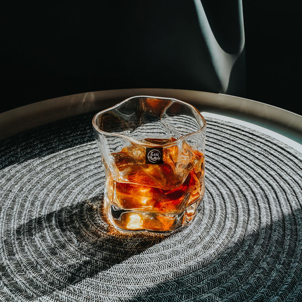 TAIKYU Textured Whisky Glass - 250ml