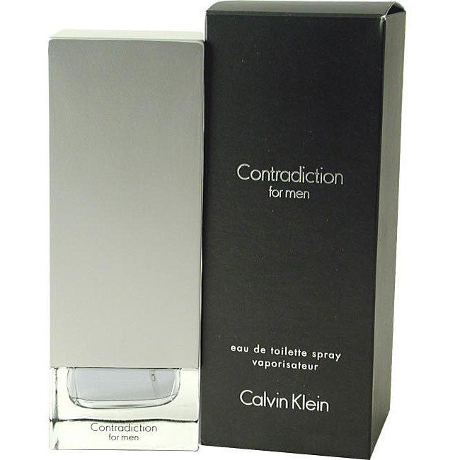 CALVIN KLEIN - Contradiction para hombre / 100 ml Eau De Toilette Spray