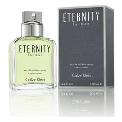 CALVIN KLEIN - Eternity para hombre / 100 ml Eau De Toilette Spray