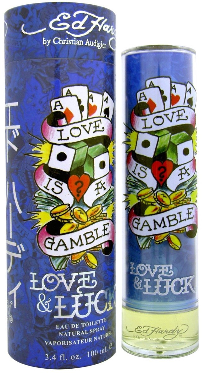 CHRISTIAN AUDIGIER - Ed Hardy Love & Luck para hombre / 100 ml Eau De Toilette Spray