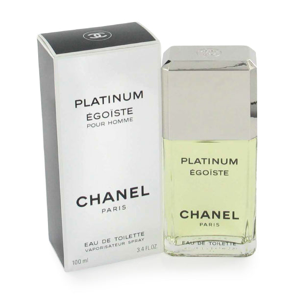 CHANEL - Platinum Egoiste para hombre / 100 ml Eau De Toilette Spray