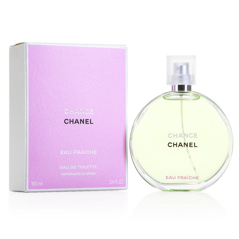 CHANEL - Chance Eau Fraiche para mujer / 100 ml Eau De Toilette Spray