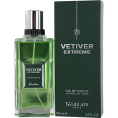 GUERLAIN - Vetiver Extreme para hombre / 100 ml Eau De Toilette Spray