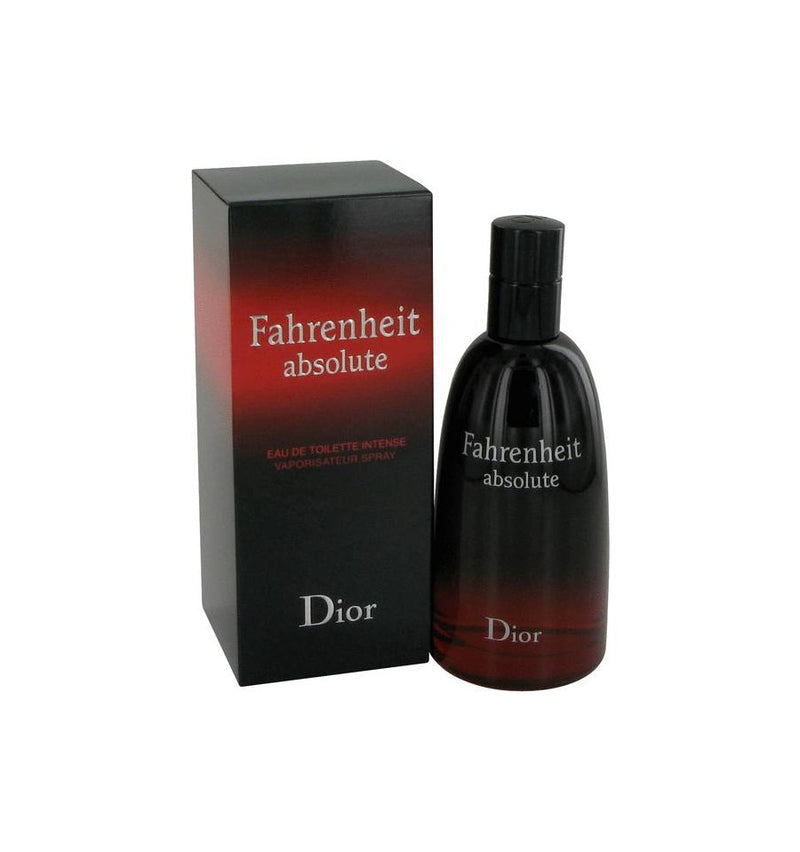 CHRISTIAN DIOR - Fahrenheit Absolute para hombre / 100 ml Eau De Toilette Spray