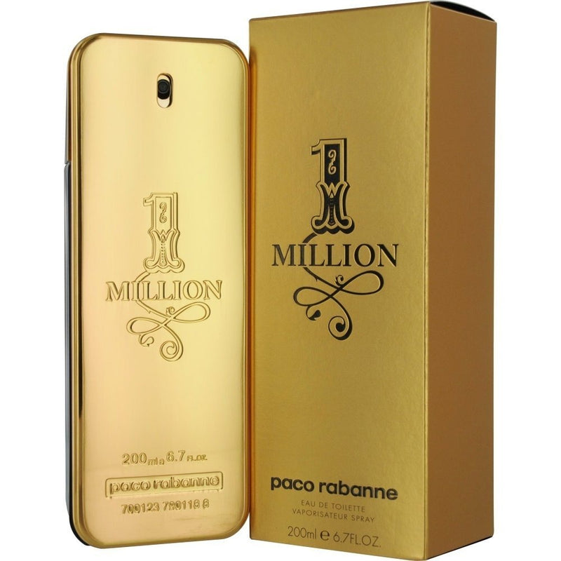 PACO RABANNE - 1 Million para hombre / 200 ml Eau De Toilette Spray