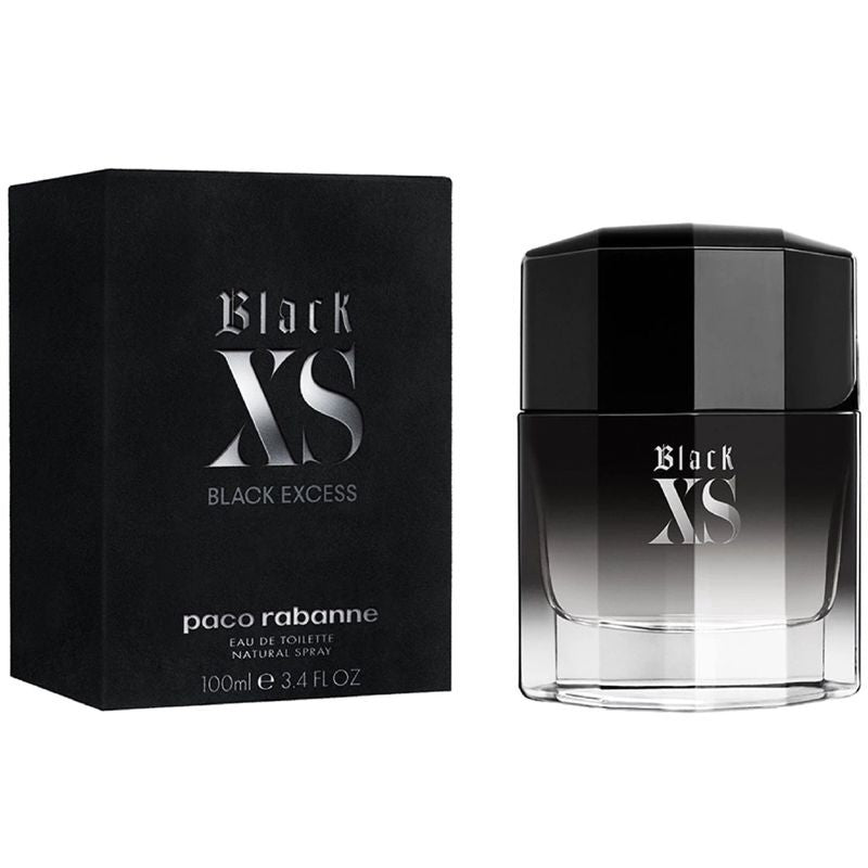 PACO RABANNE - Black XS (2018) para hombre / 100 ml Eau De Toilette Spray