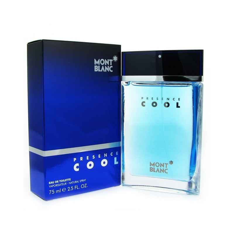 MONTBLANC - Presence Cool para hombre / 75 ml Eau De Toilette Spray