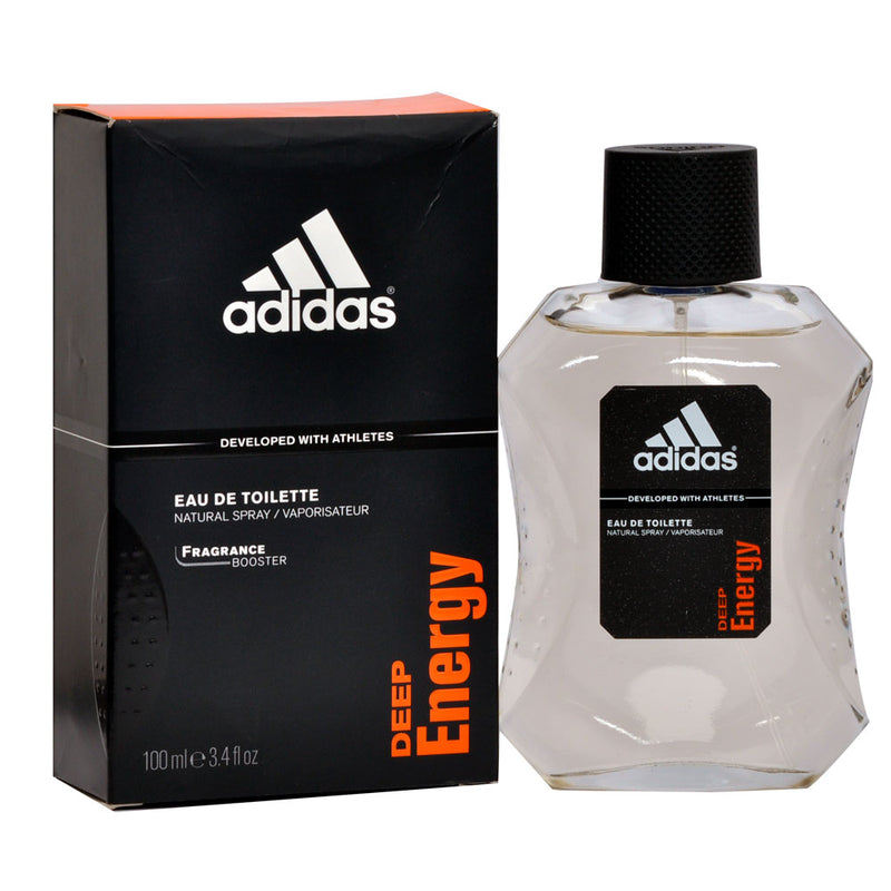 ADIDAS - Adidas Deep Energy para hombre / 100 ml Eau De Toilette Spray