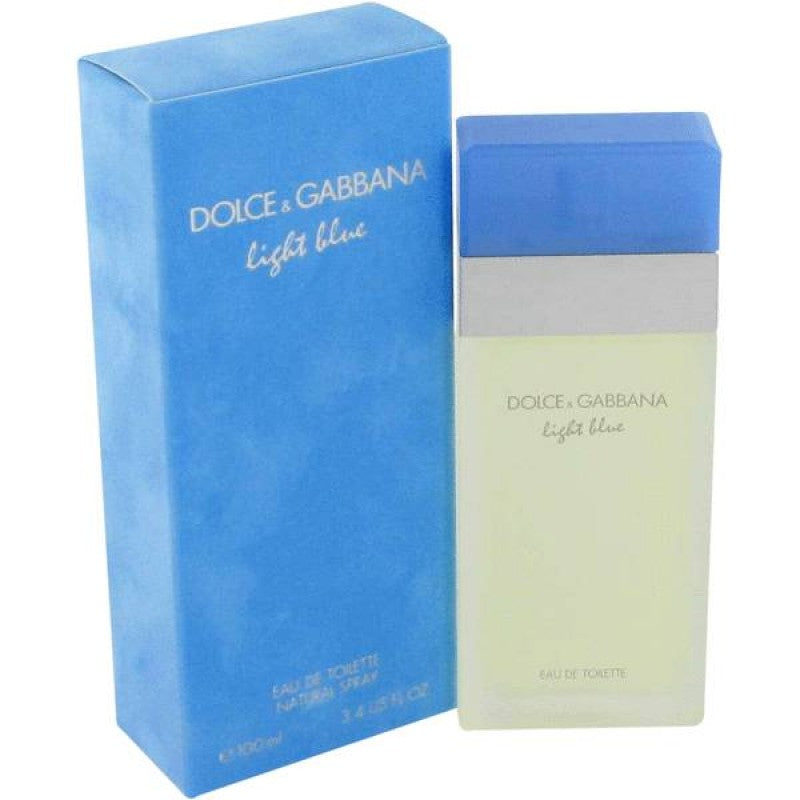 DOLCE & GABBANA - Light Blue para mujer / 100 ml Eau De Toilette Spray