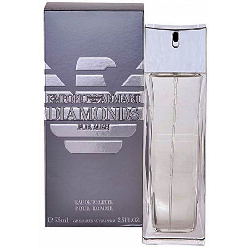 GIORGIO ARMANI - Emporio Armani Diamonds para hombre / 75 ml Eau De Toilette Spray