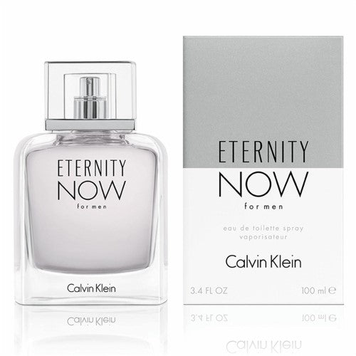 CALVIN KLEIN - Eternity Now para hombre / 100 ml Eau De Toilette Spray