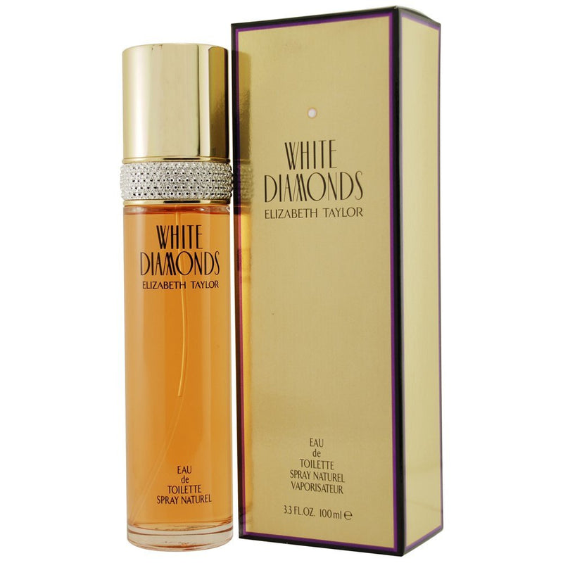 ELIZABETH TAYLOR - White Diamonds para mujer / 100 ml Eau De Toilette Spray