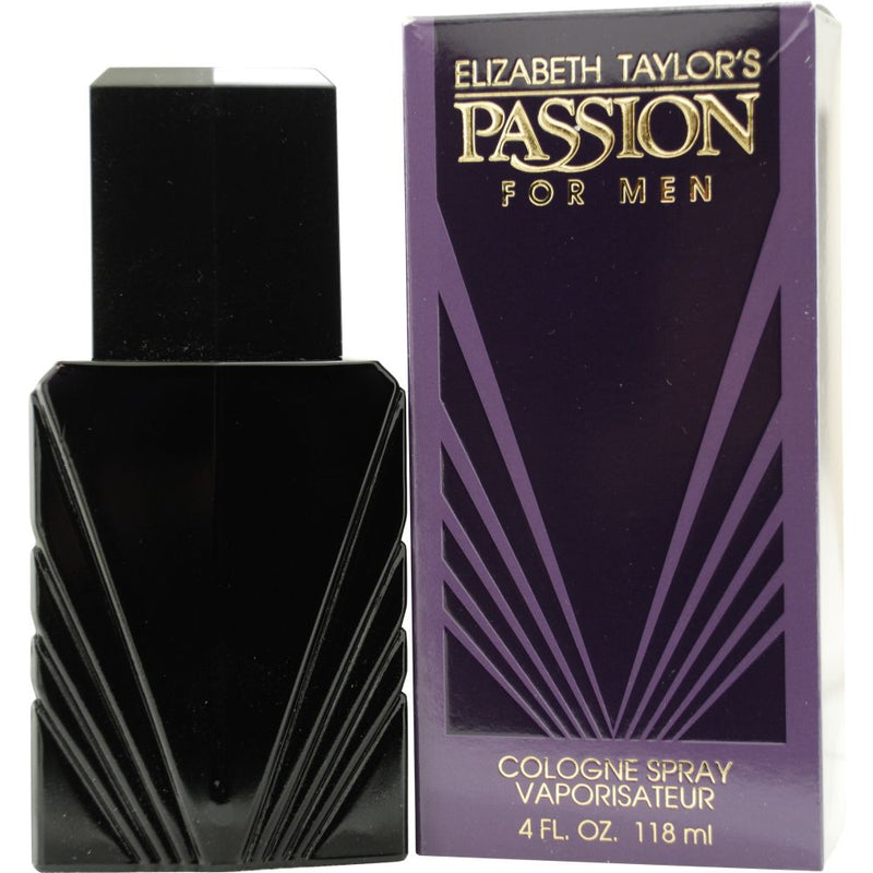 ELIZABETH TAYLOR - Passion Men para hombre / 120 ml Eau De Cologne Spray