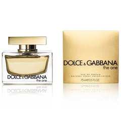 DOLCE & GABBANA - The One para mujer / 75 ml Eau De Parfum Spray