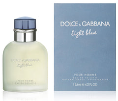 DOLCE & GABBANA - Light Blue para hombre / 125 ml Eau De Toilette Spray