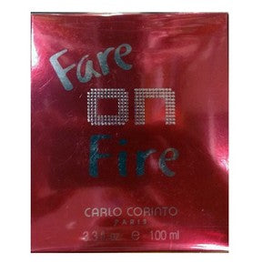 CARLO CORINTO - Fare on Fire para mujer / 100 ml Eau De Toilette Spray