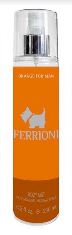 FERRIONI - Terrier Orange para hombre / 250 ml Body Mist Spray