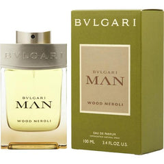 Bvlgari Man Wood Neroli para hombre / 100 ml Eau De Parfum Spray
