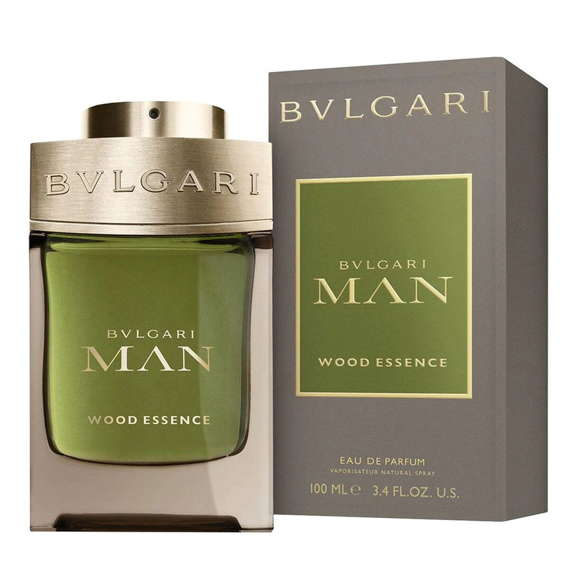 Bvlgari Man Wood Essence para hombre / 100 ml Eau De Parfum Spray