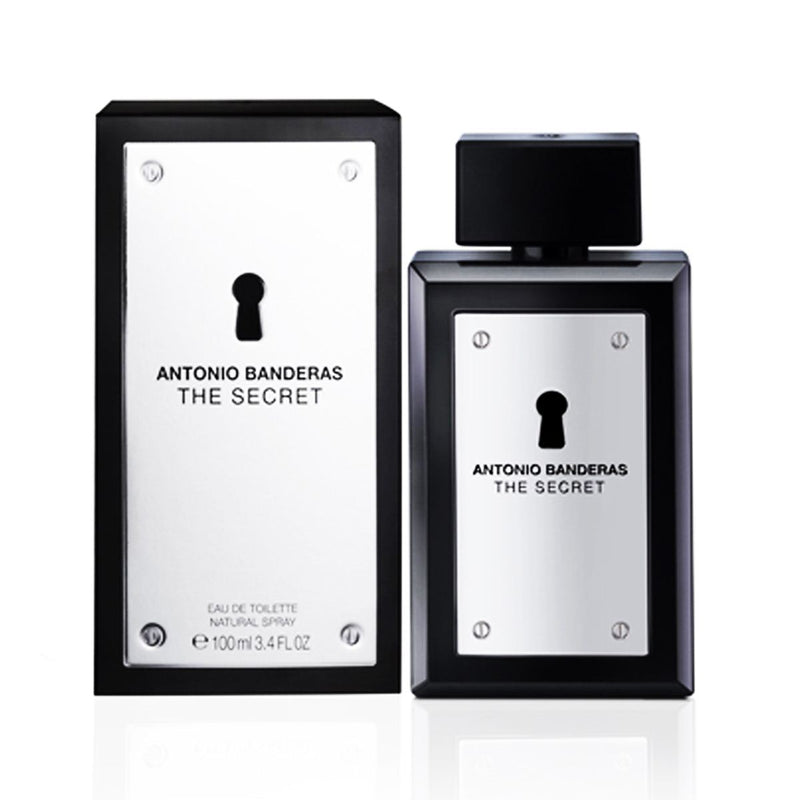 ANTONIO BANDERAS - The Secret para hombre / 100 ml Eau De Toilette Spray