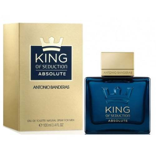 ANTONIO BANDERAS - King of Seduction Absolute para hombre / 100 ml Eau De Toilette Spray