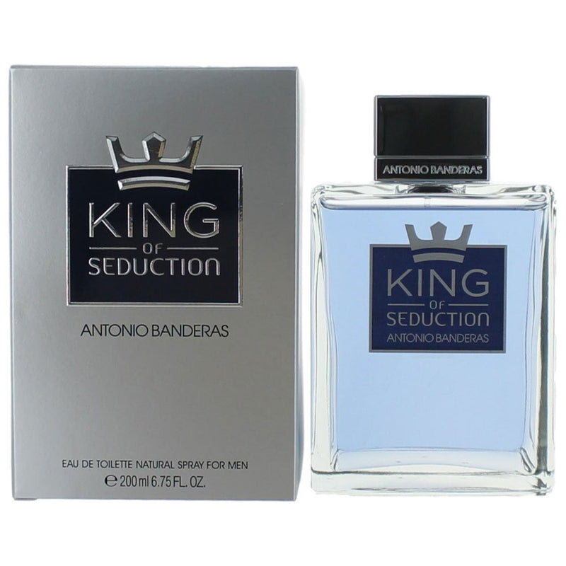 ANTONIO BANDERAS - King of Seduction para hombre / 200 ml Eau De Toilette Spray
