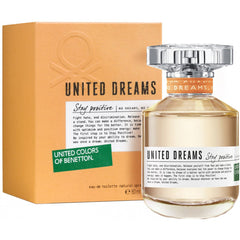 BENETTON - United Dreams Stay Positive para mujer / 80 ml Eau De Toilette Spray