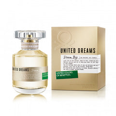 BENETTON - United Dreams Dream Big para mujer / 80 ml Eau De Toilette Spray