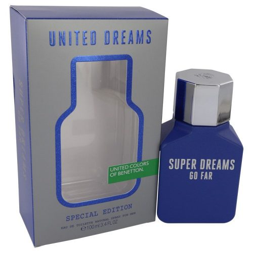 BENETTON - United Dreams Go Far (Super Dreams) para hombre / 100 ml Eau De Toilette Spray