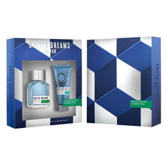 BENETTON - United Dreams Go Far para hombre / SET - 100 ml Eau De Toilette Spray + 75 ml After Shave