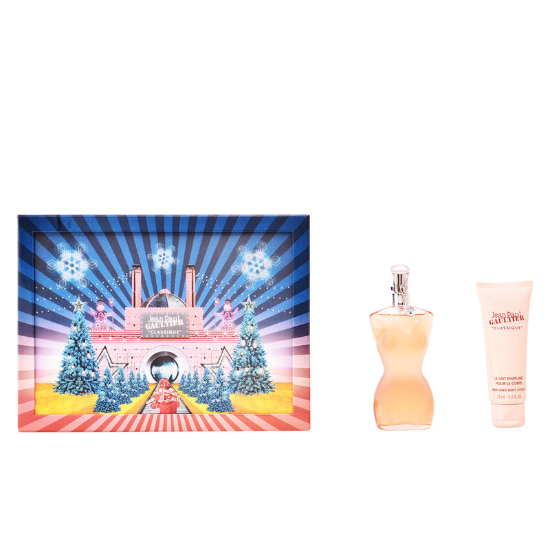 JEAN PAUL GAULTIER - Classique para mujer / SET - 100 ml Eau De Toilette Spray + 75 ml Crema corporal