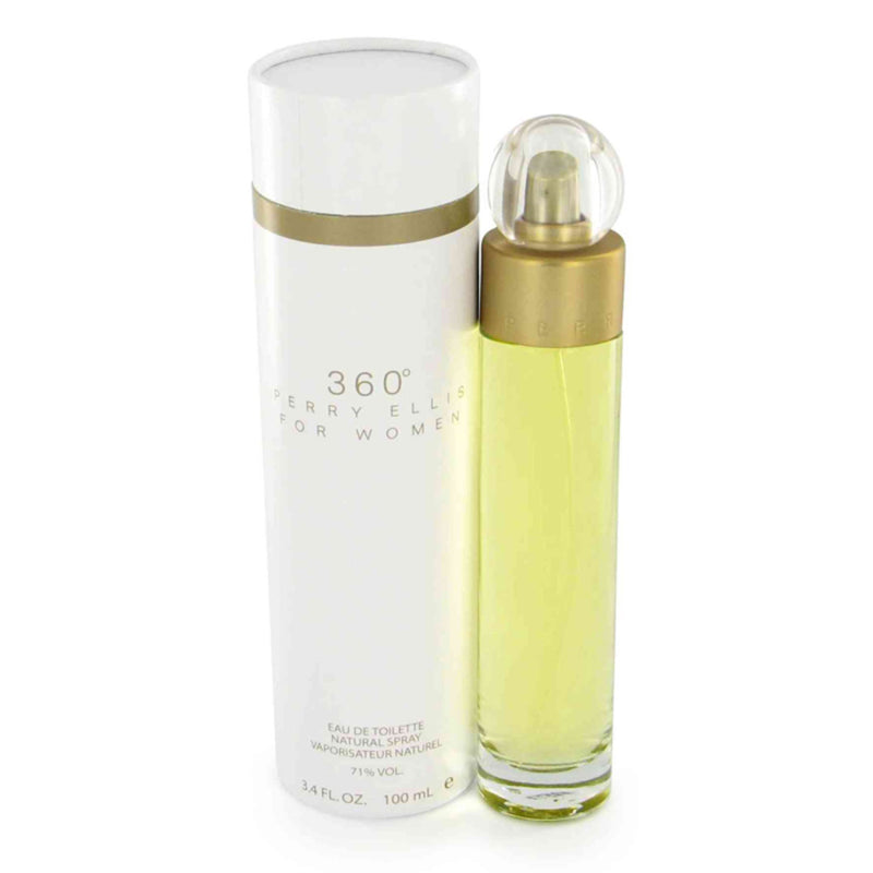 PERRY ELLIS - 360º para mujer / 100 ml Eau De Toilette Spray