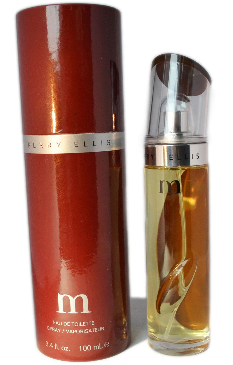 PERRY ELLIS - Perry M para hombre / 100 ml Eau De Toilette Spray