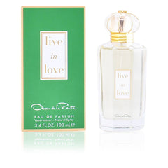 OSCAR DE LA RENTA - Live in Love para mujer / 100 ml Eau De Parfum Spray