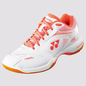 New Yonex Power Cushion 65 X 2 Ladies Badminton Shoes White (2019)