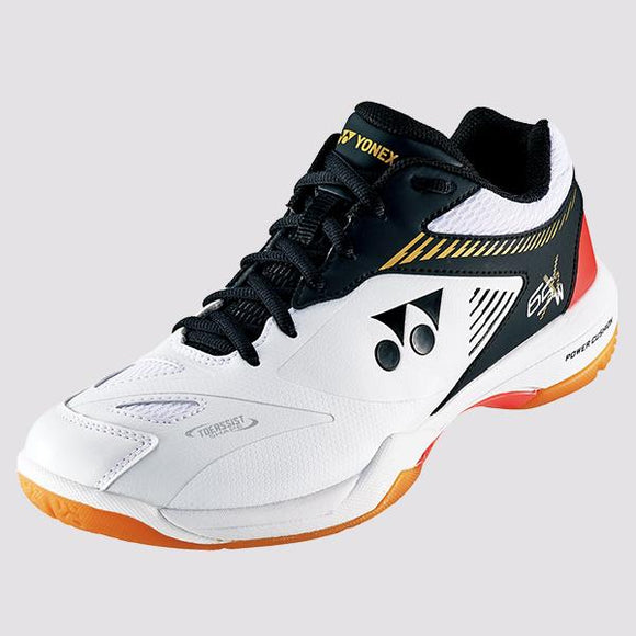 New Yonex Power Cushion 65 X 2 Wide Badminton Shoes White & Black (2019)