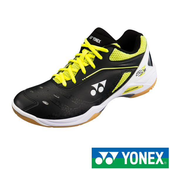 Yonex Power Cushion 65Z (Black Yellow) Badminton Shoes